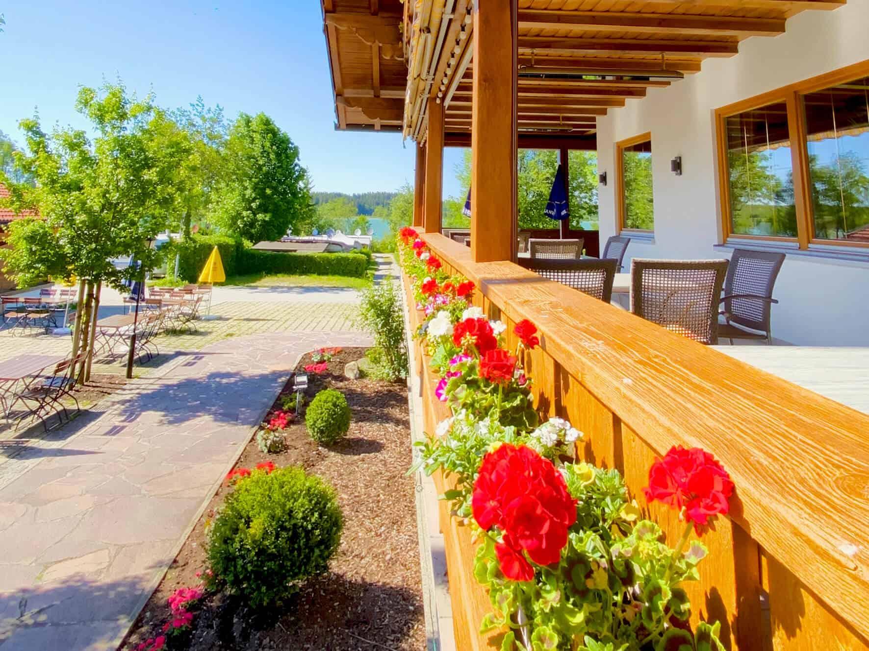 Terrasse Restaurant Bannwaldsee