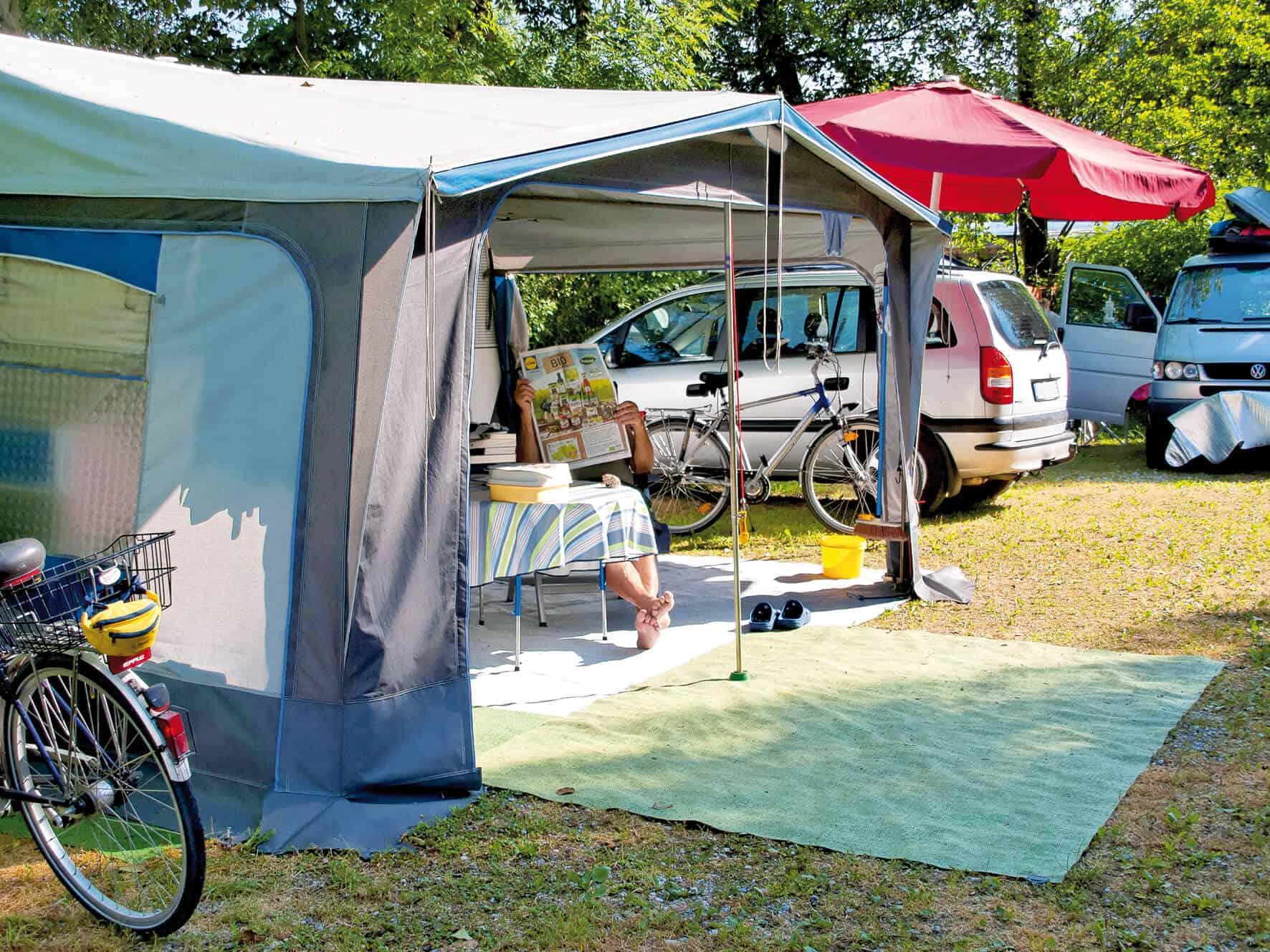 Stellplatz Camping Bannwaldsee