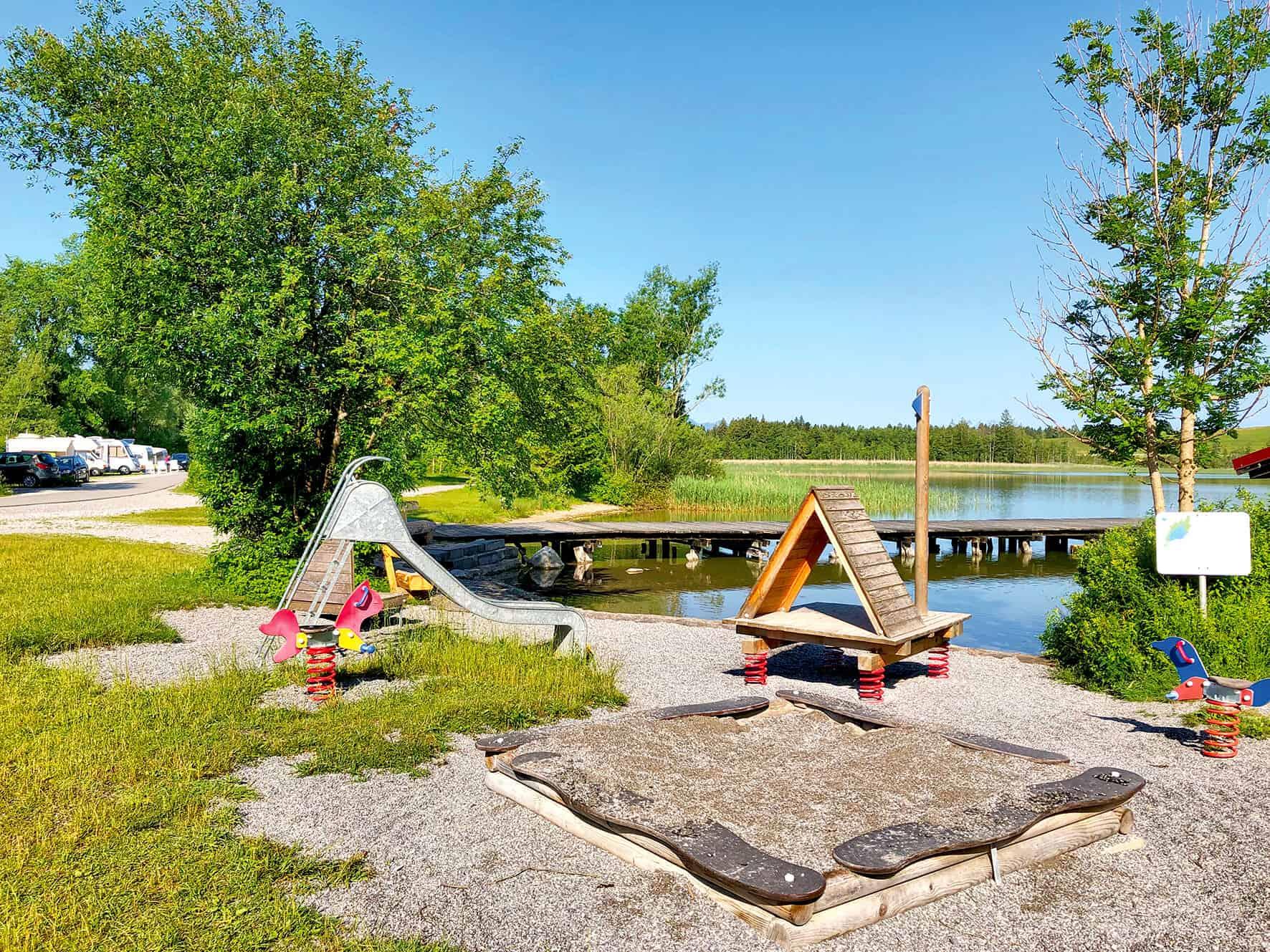 Kinderspielplatz Camping Bannwaldsee